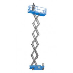 Genie - Self Propelled Scissor Lift Series GS2046, GS2646, GS3246 Series