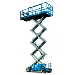 Genie - Self Propelled Scissor Lift GS-2669 RT, GS-3369 RT, GS-4069 RT Series