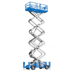 Genie Self Propelled Scissor Lift GS4390 RT, GS-5390 RT Series