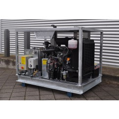 Jetwave - Executive Range Hot Water Diesel Driven High Pressure Water Cleaner